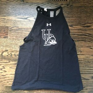 University of Delaware under armour tank small